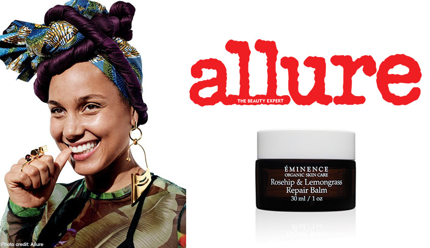 Alicia Keys Adds Another Eminence Organics Product To Her Coveted Skin Care Routine
