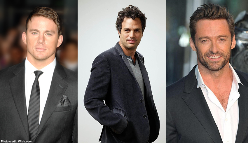 Channing Tatum, Mark Ruffalo and Hugh Jackman