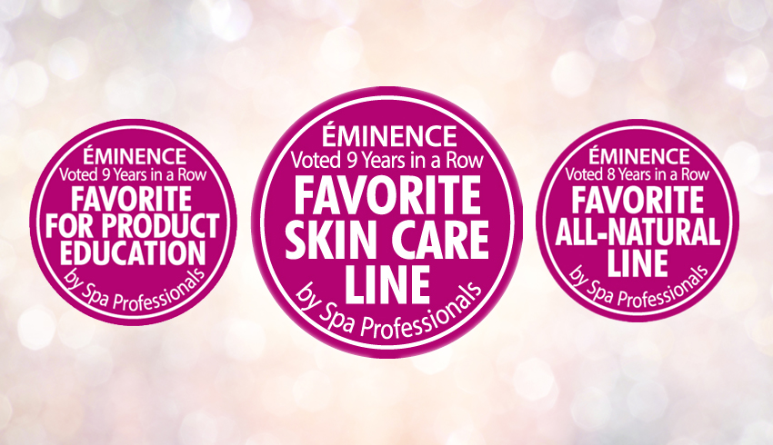Eminence Organics Wins Favorite Skin Care Line Award For A Ninth Year In A Row!