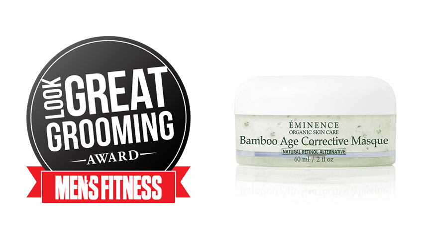 Eminence Organics Wins Men's Fitness 2017 Look Great Grooming Award