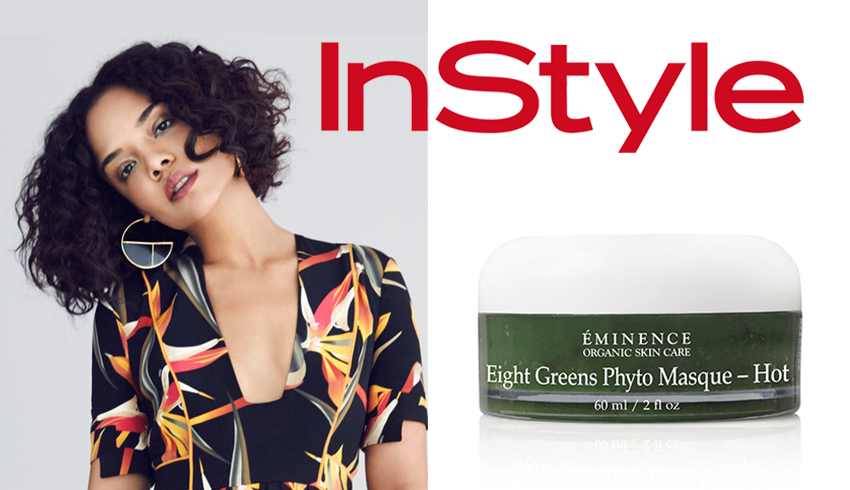 Tessa Thompson and Eminence Organics Eight Greens Phyto Masque (Hot)