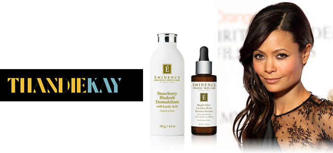 Actress Thandie Newton swears by our 'gorgeous' products