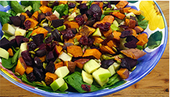 Autumn Chop Salad For Fall Skin Care