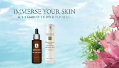 Target Wrinkles With The New Eminence Organics Marine Flower Peptide Collection