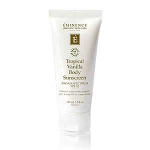 Eminence Organics Tropical Vanilla Body Sunscreen