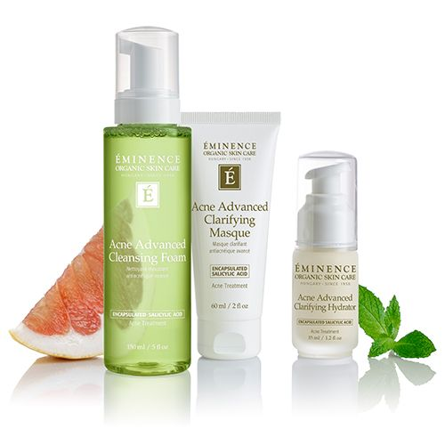 Eminence Organics Acne Advanced 3-Step Treatment System