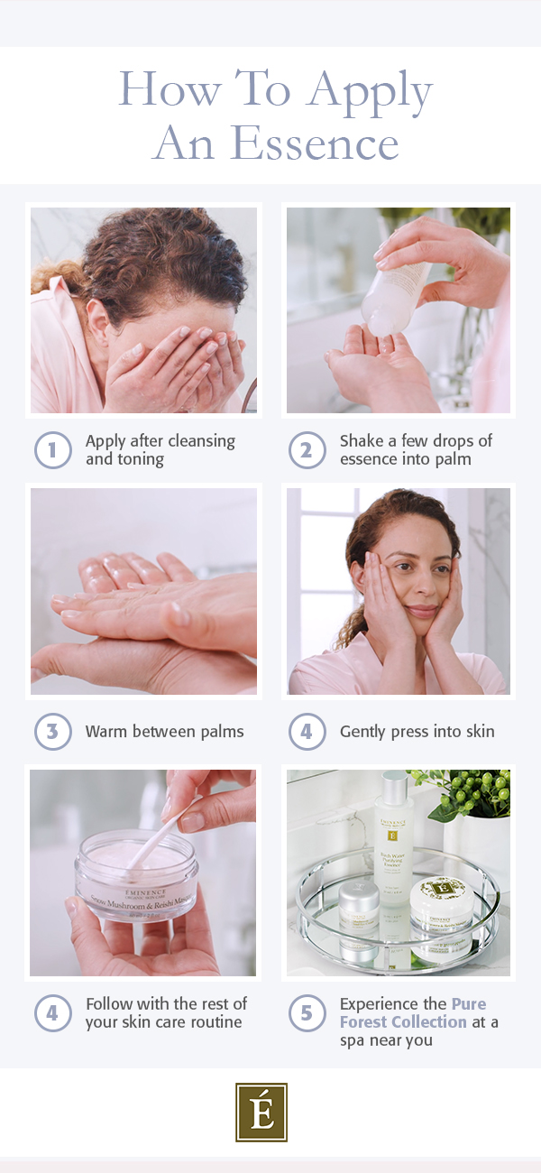 how to apply an essence infographic