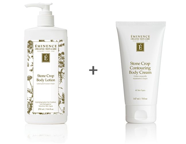 Stone Crop Body Lotion and Stone Crop Contouring Body Cream