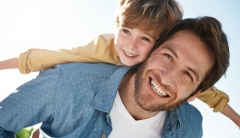 Best healthy Father's Day gift ideas with active boy and dad