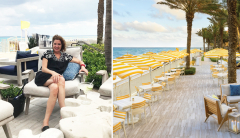 Eminence Organics holiday contest winner and Eau Palm Beach Resort and Spa