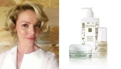 Katherine Heigl and Eminence Organics products