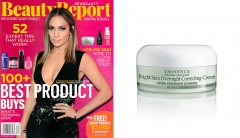 NewBeauty's BeautyReport Raves About Eminence Organics Bright Skin Overnight Correcting Cream
