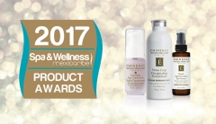 Spa & Wellness Mexicaribe Skin Care Products Awards for 2017 with Eminence Organic Skin Care Products