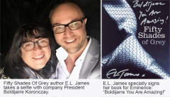 "Fifty Shades Author E.L. James Declares Éminence ""Best Facial Of My Life"""