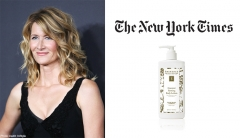 The New York Times Features Eminence Organics and Laura Dern