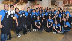 Éminence Staff Volunteers Make & Serve Over 150L of Organic Soup for Sick Children