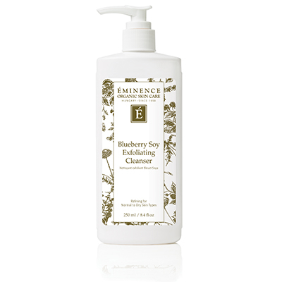 Blueberry Soy Exfoliating Cleanser | Eminence Organic Skin Care